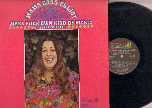 Mama Cass - Make Your Own Kind Of Music: It's Getting Better, Blow Me A Kiss, Easy Come Easy Go, Lady Love (vinyl STEREO LP record) - VG7/VG6 - LP Records
