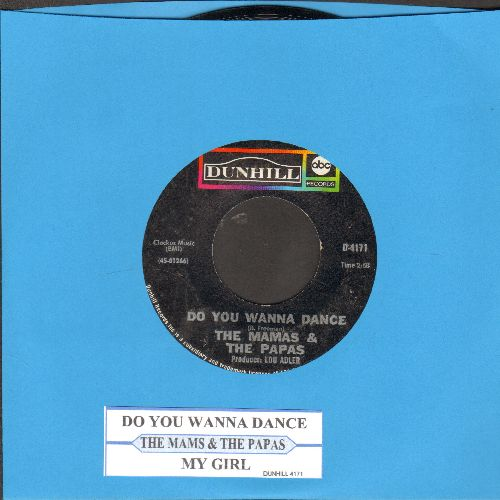 Mamas & Papas - Do You Wanna Dance/My Guy (with juke box label) - NM9/ - 45 rpm Records