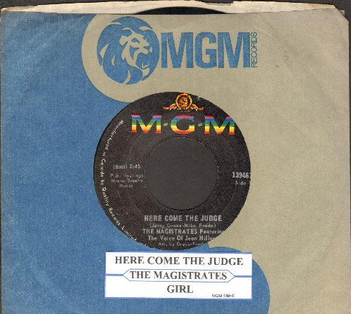 Magistrates - Here Come The Judge/Girl (with MGM company sleeve and juke box label) - NM9/ - 45 rpm Records
