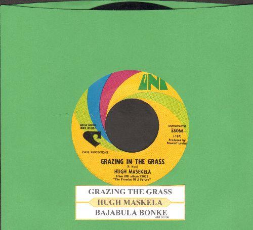 Masekela, Hugh - Grazing In The Grass/Bajabula Bonke (with juke box label) - NM9/ - 45 rpm Records