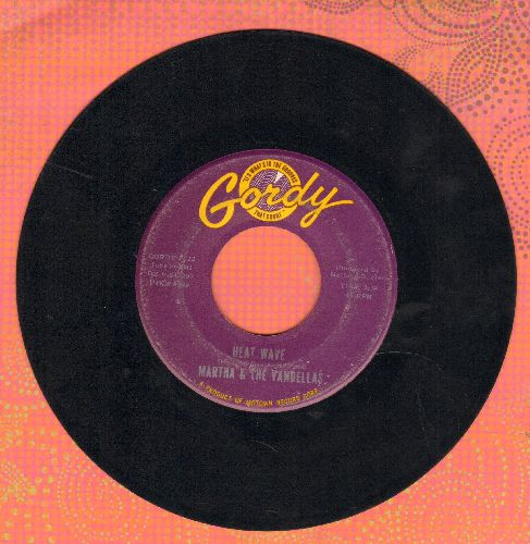 Martha & The Vandellas - Heat Wave/A Love Like Yours (Don't Come Knocking Everyday) - EX8/ - 45 rpm Records