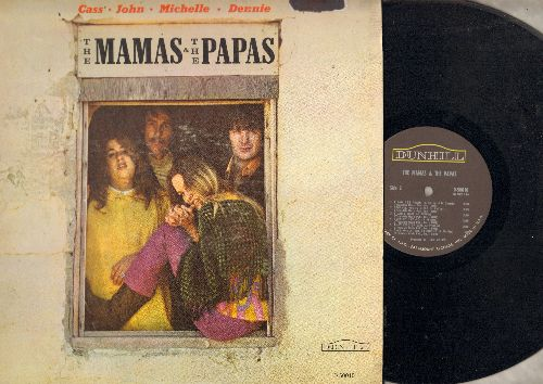 Mamas & Papas - The Mamas & The Papas: Words Of Love, Dancing In The Street, My Heart Stood Still, I Saw Her Again (vinyl MONO LP record) - NM9/EX8 - LP Records