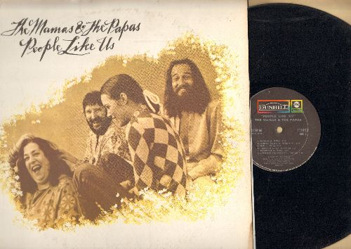 Mamas & Papas - People Like Us: Pacific Coast Highway, European Blueboy, Lady Genevieve, Pearl, I Wanna Be A Star, Bluebnerries For Breakfast, Grasshopper (Vinyl LP record) - NM9/EX8 - LP Records