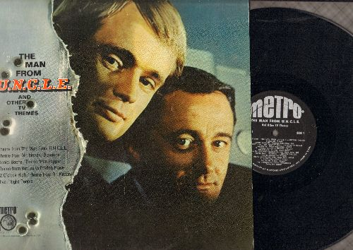 The Man From U.N.C.L.E. - The Man From U.N.C.L.E. and other TV Themes: Flipper, Bonanza, Dr. Kildare, Daniel Boone (vinyl MONO LP record)                    - EX8/EX8 - LP Records