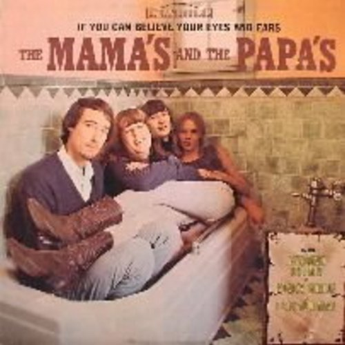 Mamas & Papas - If You Can Believe Your Eyes And Ears: California Dreamin', Monday Monday, You Baby (Vinyl STEREO LP record) (REPRESS) - VG7/VG7 - LP Records