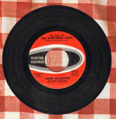 MacArthur, James - The Story Of The In-Between Years (Parts 1+2) (Star of TV's 'Hawaii Five-0') - EX8/ - 45 rpm Records