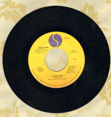 Madonna - Lucky Star/I Know It  - NM9/ - 45 rpm Records