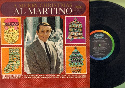 Martino, Al - A Merry Christmas: You're All I Want For Christmas, I'll Be Home For Christmas, Rudolph The Red-Nosed Reindeer, Silent Night, Silver Bells (Vinyl MONO LP record) - EX8/NM9 - LP Records