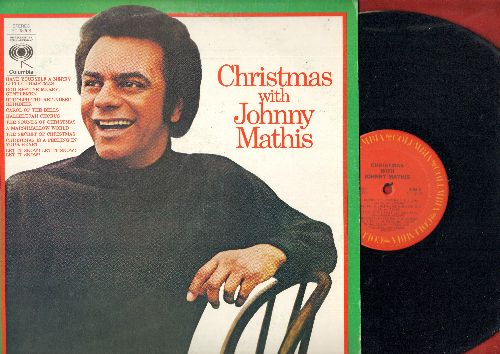 Mathis, Johnny - Christmas With Johnny Mathis: Have Yourself A Merry Little Christmas, A Marshmallow World, Carol Of The Bells, Rudolph, Let It Snow! (vinyl STEREO LP record) - NM9/NM9 - LP Records