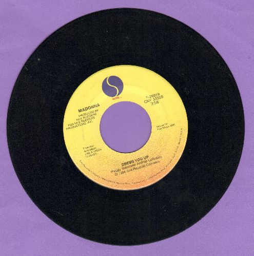 Madonna - Dress You Up/Shoo-Bee-Doo - NM9/ - 45 rpm Records