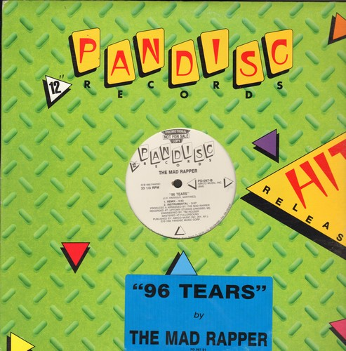 Mad Rapper - 96 Tears (12 inch vinyl Maxi Single featuring 4 different versions of the Hit, DJ advance pressing) - M10/ - Maxi Singles
