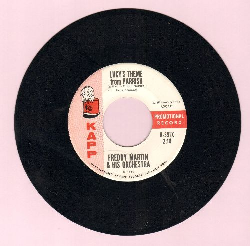 Martin, Freddy & His Orchestra - Lucy's Theme From Parrish/Paige's Theme From Parrish - NM9/ - 45 rpm Records