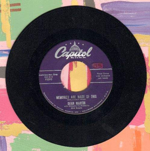 Martin, Dean - Memories Are Made Of This/Change Of Heart  - VG7/ - 45 rpm Records