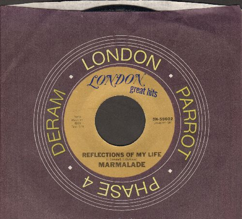 Marmalade - Reflections Of My Life/Rainbow (double-hit re-issue with company sleeve) - NM9/ - 45 rpm Records