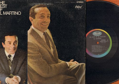 Martino, Al - The Best Of Al Martino: Spanish Eyes, Painted Tainted Rose, Hush…Hush Sweet Charlotte, Daddy's Little Girl (Vinyl STEREO LP record, gate-fold cover) - EX8/VG7 - LP Records