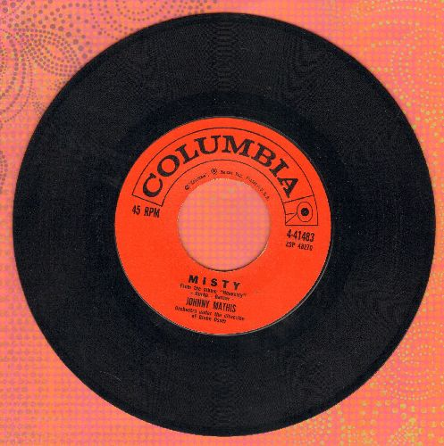Mathis, Johnny - Misty/The Story Of Our Love - EX8/ - 45 rpm Records