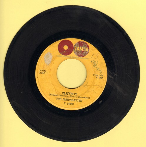 Marvelettes - Playboy/All The Love I've Got  - G5/ - 45 rpm Records