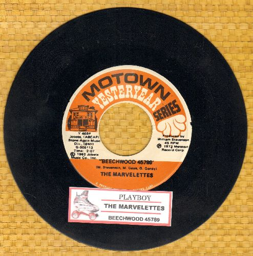 Marvelettes - Playboy/Beechwood 4-5789 (double-hit re-issue with juke box label) - NM9/ - 45 rpm Records