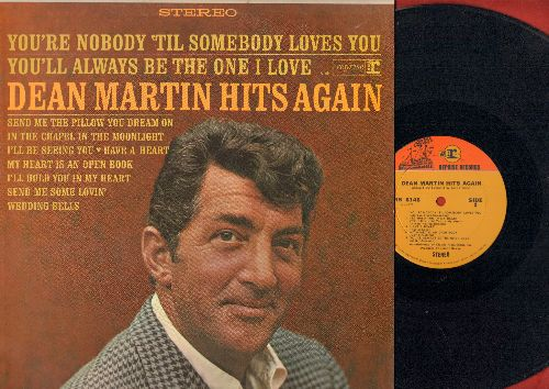Martin, Dean - Hits Again: Send Me The Pillow You Dream On, Send Me Some Lovin', I'll Hold You In My Heart (vinyl STEREO LP record) - NM9/NM9 - LP Records