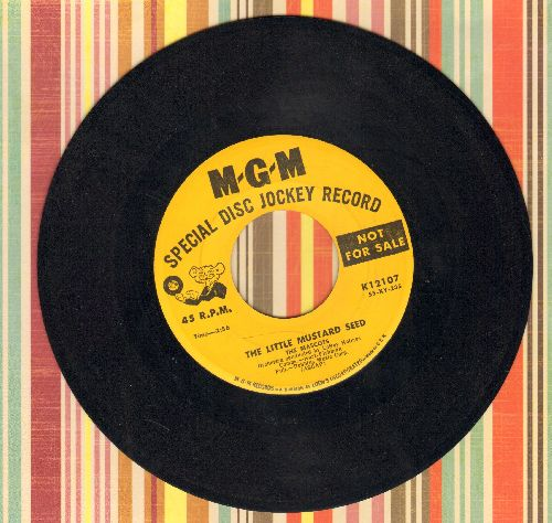 Mascots - The Little Mustard Seed/Nobody's Arms (DJ advance pressing) - EX8/ - 45 rpm Records