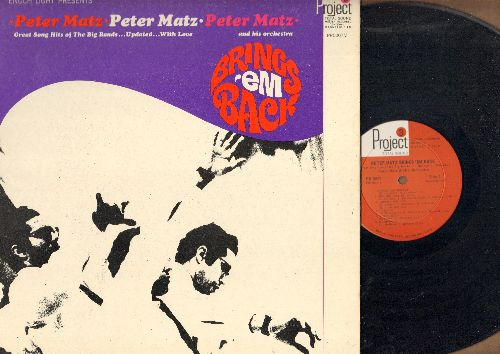 Matz, Peter & His Orchestra - Peter Matz Brings'Em Back: Frenesi, Undecided, Thanks For The Memory, Bei Mir Nist Du Schoen (vinyl 35mm Total Sound LP record, gate-fold cover) - EX8/NM9 - LP Records