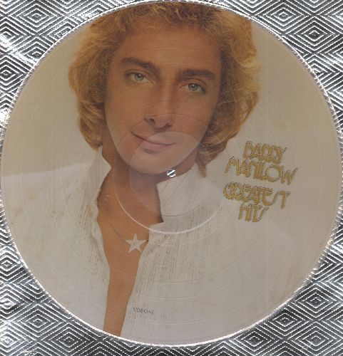 Manilow, Barry - Greatest Hits: Mandy, Daybreak, Bandstand Boogie (12 inch vinyl Picture Disc) - NM9/ - LP Records