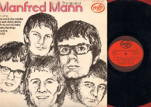 Manfred Mann Greatest Hits Records, LPs, Vinyl and CDs