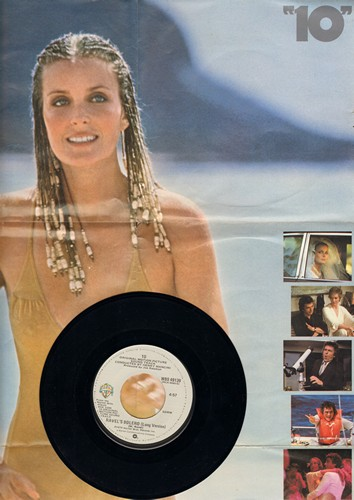 Mancini, Henry - Rave's Bolero as featured in film -10- with BONUS fold-out poster wih pictures of star Bo Derek! - M10/EX8 - 45 rpm Records