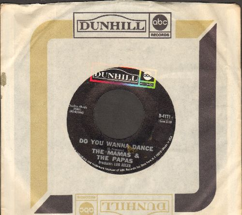 Mamas & Papas - Do You Wanna Dance/My Guy (with company sleeve) - NM9/ - 45 rpm Records