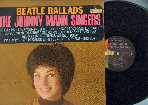 Mann, Johnny Singers - Beatles Ballads: Love Me Do, I'm Happy Just To Dance With You, All My Loving, Do You Want To Know A Secret, And I Love Her (vinyl STEREO LP record) - NM9/EX8 - LP Records