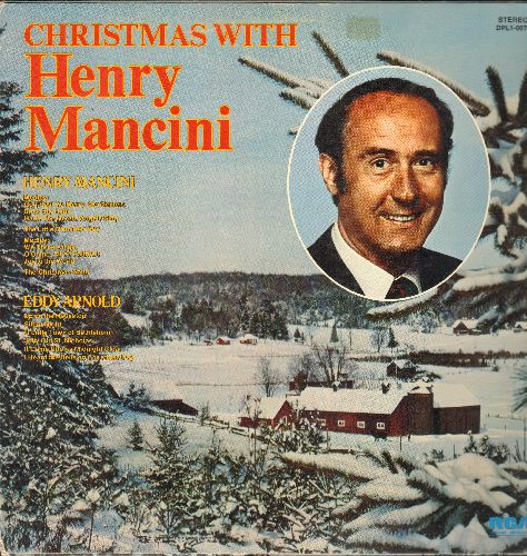 Mancin, Henry, Eddy Arnold - Christmas With Henry Mancini And Eddy Arnold: The Christmas Song, Silent Night, Christmas Medleys (vinyl STEREO LP record) - NM9/VG6 - LP Records