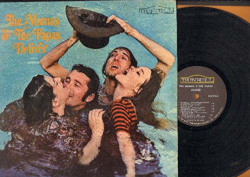 Mamas & Papas - The Mamas & The Papas Deliver: Dedicated To The One I Love, Creeque Alley, Twist And Shout, Look Through My Window (MONO LP record) - EX8/VG7 - LP Records