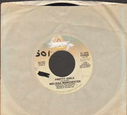 Manchester, Melissa - Pretty Girls (Look Good On You)/It's All In The Sky Above (with Arista company sleeve, wol) - EX8/ - 45 rpm Records