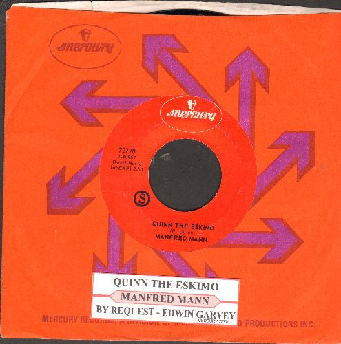 Mann, Manfred - Mighty Quinn (Quinn The Eskimo)/By Request - Edwin Garvey (with juke box label and Mercury company sleeve) - NM9/ - 45 rpm Records