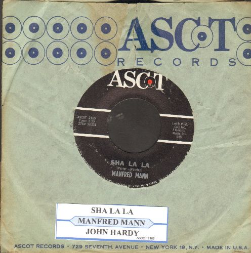 Mann, Manfred - Sha La La/John Hardy (withjuke box label and  RARE vintage Ascot company sleeve) - NM9/ - 45 rpm Records