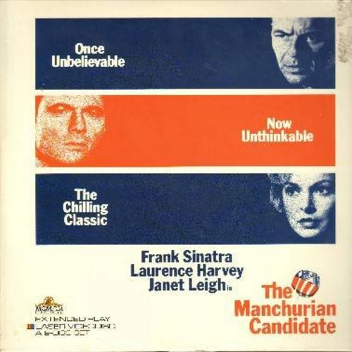Manchurian Candidate - The Manchurian Candidate - The The Classic 1962 Thriller starring Frank Sinatra, Lwrence Harvey and Angela Lansbury - THIS IS A SET OF 2 LASER DISCS, NOT ANY OTHER KIND OF MEDIA! - NM9/EX8 - Laser Discs
