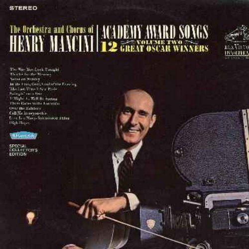 Mancini, Henry & His Orchestra & Chorus - Academy Award Songs Volume Two: The Way You Look Tonight, Thanks For The Memory, Never On Sunday, Swinging On A Star, Over The rainbow, High Hopes, Love Is A Many-Splendored Thing (Vinyl STEREO LP record) - NM9/NM