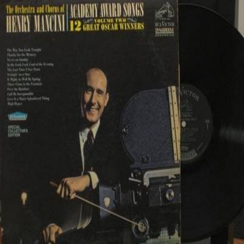 Mancini, Henry & His Orchestra & Chorus - Academy Award Songs Volume Two: The Way You Look Tonight, Thanks For The Memory, Never On Sunday, Swinging On A Star, Over The rainbow, High Hopes, Love Is A Many-Splendored Thing (Vinyl DYNAGROOVE MONO LP record)