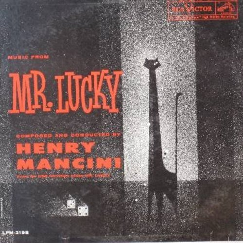 Mancini, Henry - Mr. Lucky - Music composed and conducted by Henry Mancini (Vinyl MONO LP record) - EX8/EX8 - LP Records