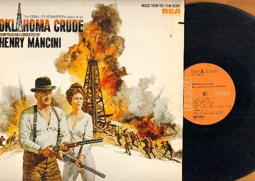 Mancini, Henry - Oklahoma Crude - Original Motion Picture Sound Track, music composed and conducted by Henry Mancini (vinyl STEREO LP record) - NM9/EX8 - LP Records