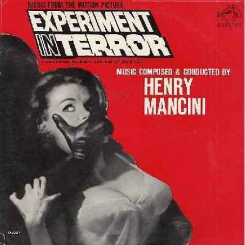 Mancini, Henry - Experiment In Terror - Music from the Motion Picture, composed and conducted by Henry Mancini. (vinyl MONO LP record, DJ advance copy) - M10/EX8 - LP Records
