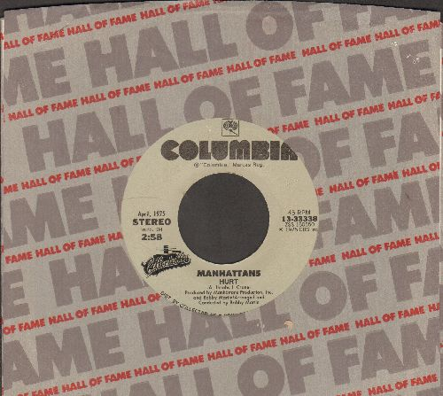 Manhattans - Hurt/Kiss And Say Goodbye (double-hit re-issue with Columbia company sleeve) - NM9/ - 45 rpm Records