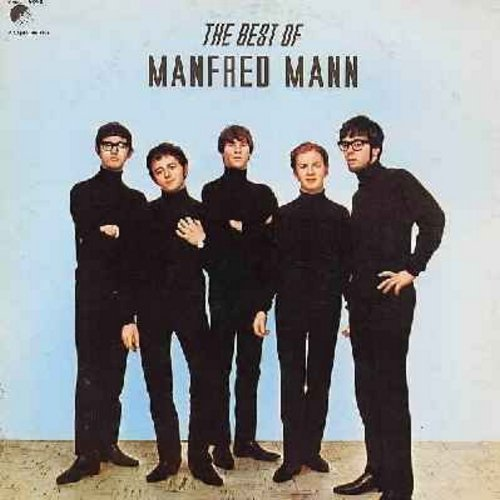 Mann, Manfred - The Best Of Manfred Mann: Do Wah Diddy Ditty, Sha La La, If You Gotta Go Go Now, Pretty Flamingo, Oh No Not My Baby (Vinyl MONO LP record, 1980s re-issue of vintage recordings) - M10/EX8 - LP Records