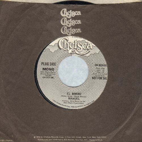 Manuel - El Bimbo (DJ advance pressing with MONO and STEREO version of the Disco Hit, with Chelsea company sleeve) - NM9/ - 45 rpm Records