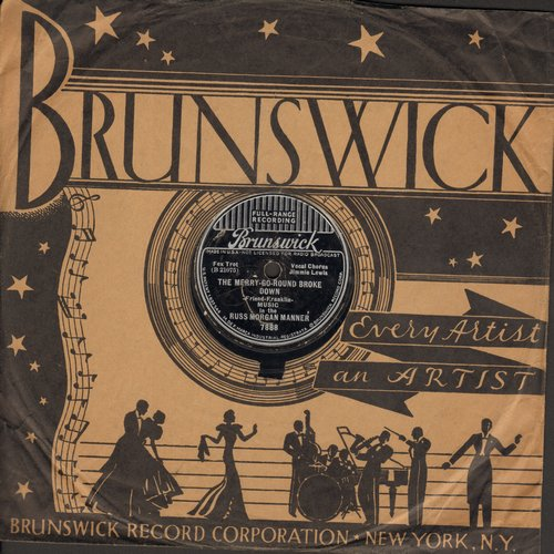Manners, Zeke - Sioux City Sue/Don't Dog Me 'Round (10 inch 78 rpm record with Decca company sleeve) - VG7/ - 78 rpm