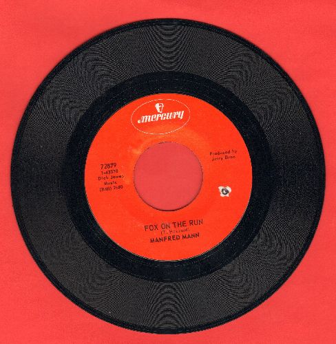 Mann, Manfred - Fox On The Run/Too Many People (bb) - EX8/ - 45 rpm Records