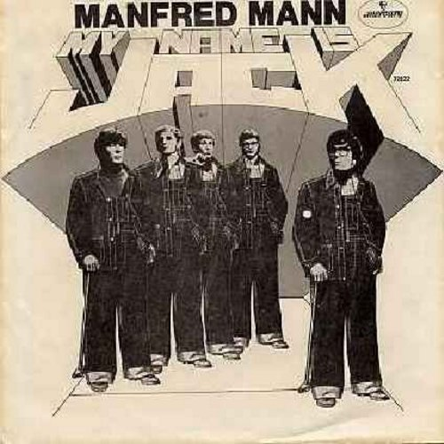 Mann, Manfred - My Name Is Jack/There Is A Man (with picture sleeve) (bb) - EX8/EX8 - 45 rpm Records