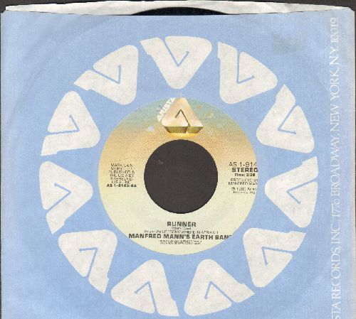 Mann, Manfred Eath Band - Runner/Where Do They Send Them (dark label pressing with Arista company sleeve) - NM9/ - 45 rpm Records