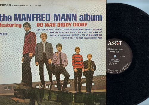 Mann, Manfred - The Manfred Mann Album: Do Wah Diddy Diddy, I'm Your Hoochie Coochie Man, Got My Mojo Working (vinyl STEREO LP record) - NM9/EX8 - LP Records