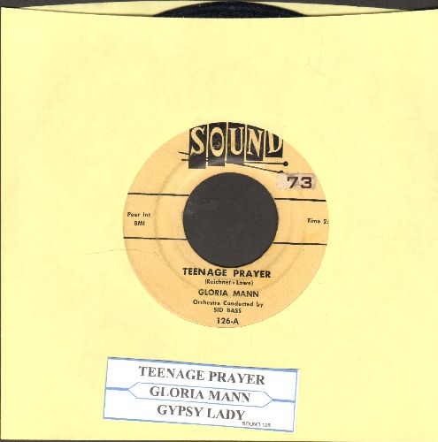 Mann, Gloria - A Teenage Prayer/Gypsy Lady (with juke box label)(ssol) - EX8/ - 45 rpm Records